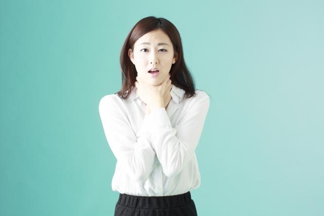 声がかすれるメカニズムと原因