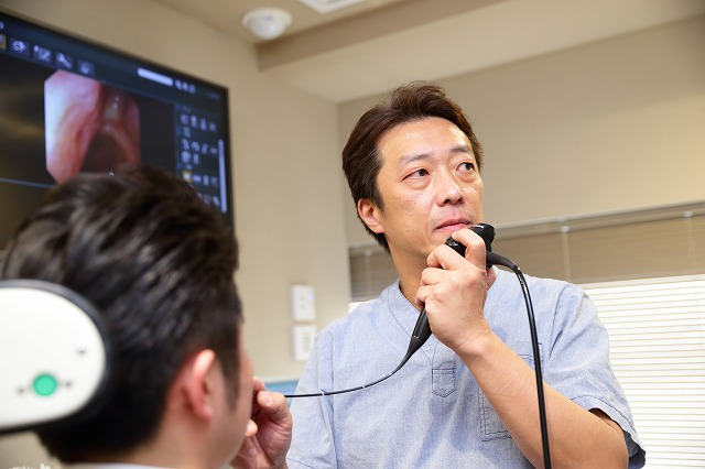 声帯ポリープ・声帯結節の診断方法